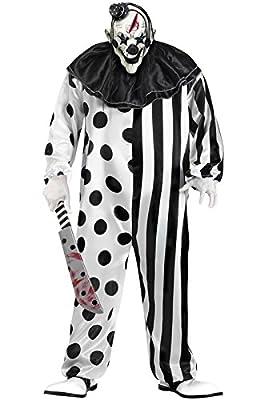 Fun World Killer Clown Plus Size Costume