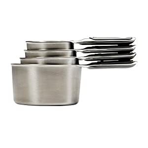 OXO Good Grips 8 Piece Stainless Steel Measuring Cups and Spoons Set