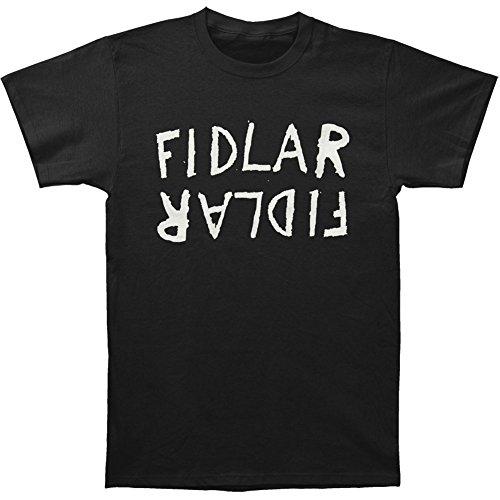 Fidlar Men's Flipped Logo T-shirt Black
