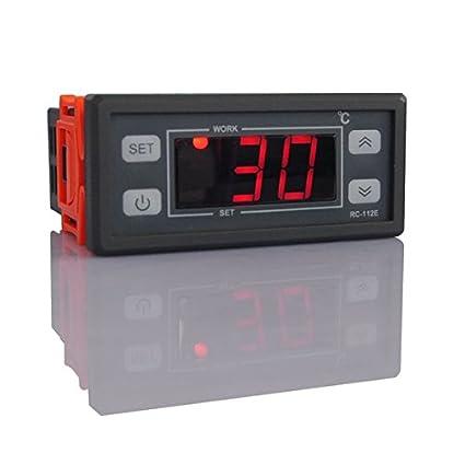 MASUNN Rc-112 220V/110V 10A Digital Lcd Termostato Regulador De Temperatura Controlador-