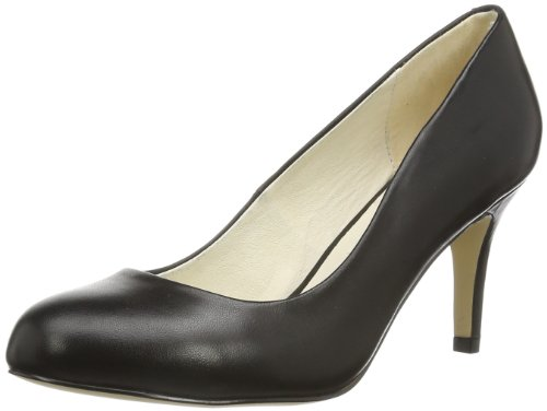Buffalo London 113-2879-1 SILK LEATHER - Zapatos Mujer Negro (Schwarz (Black 01))