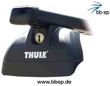 Thule Premium Dachträger Für Mercedes Benz Viano 4 Türer Mpv Ab Baujahr 2004 Bis Heute Mit Fixpunkten Gewinde Im Fahrzeugdach Nicht Für Fahrzeuge Dachreling Geeignet Auto
