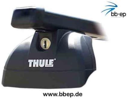 Thule 90433827 - Baca de acero para VOLKSWAGEN Passat con railing ...