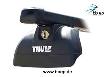 Thule Stahldachträger 90433607 Komplett System Inkl Schloss Für Bmw