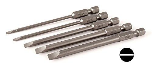 Wiha 76093 Slotted Blades 5 Piece