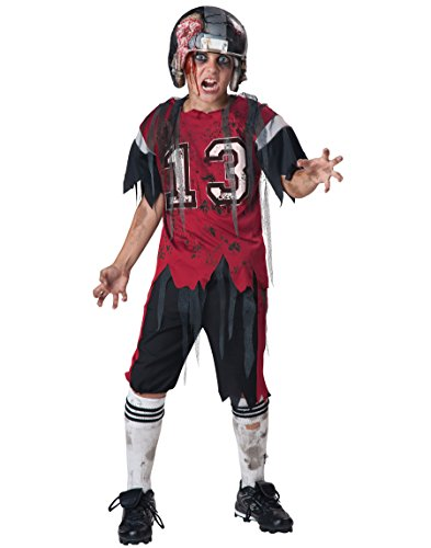 InCharacter Costumes Dead Zone Zombie Costume, Size 8/Medium - Girl Football Player Halloween Costumes