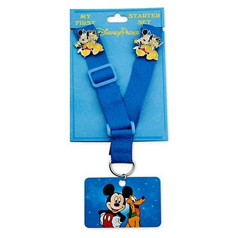 Mickey Mouse ''My First'' Pin Trading Starter Set With - World At Shops Disney
