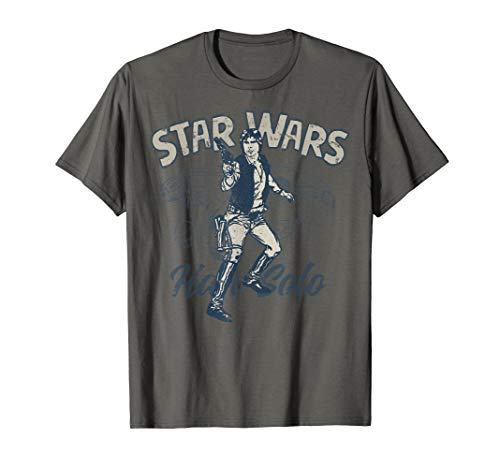 Star Wars Han Solo Tonal T-Shirt (Han Solo Don T Tell Me The Odds)