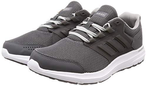 Course Galaxy Gris Deux F17 De M F17 Homme Adidas Chaussures 4 Cinq gris 5OTRxWqRw