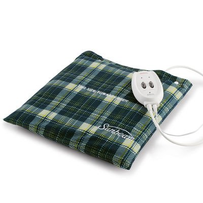 Massaging Heat Pad (Sunbeam 730-811 Heating Pad plus Massage)
