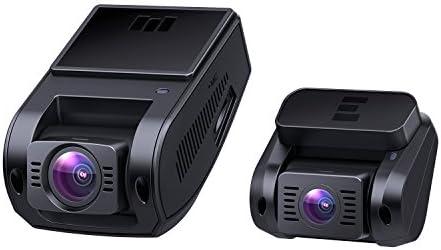 Aukey 1080p Dashcam Vorne Und Hinten Verbesserter Sensor Autokamera Mit 170 Grad Weitwinkel Superkondensator Wdr Nachtsicht Kamera Für Auto Mit G Sensor Bewegungserkennung Loop Aufnahme Navigation