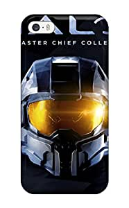 New Style Flexible Tpu Back Case Cover For Iphone 5/5s - Halo: The Master Chief Collection