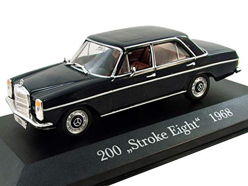 - Mercedes-Benz 200 Stroke Eight 1968 Year German Passenger Six-Cylinder Car 1/43 Collectible Model Vehicle Executive Sedan by Mercedes-Benz Company