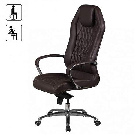 Amstyle Étui Cuir Chaise De Bureau Monterey En UzVpGSMjLq