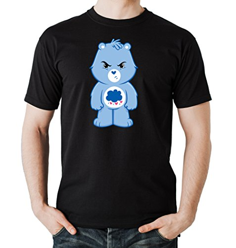 Angry Bear T-Shirt Black Certified Freak