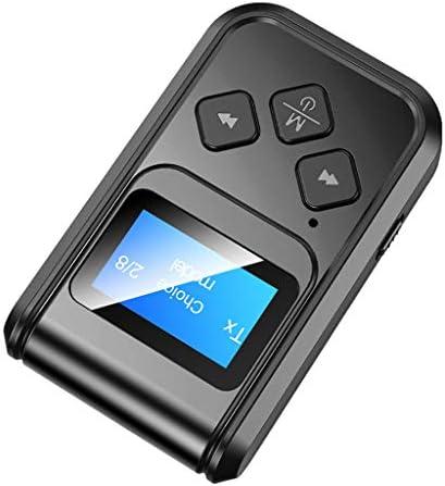 freneci Bluetoothzenderontvanger Bluetooth 50adapter met lage latentie aptX HD ruisonderdrukking Bluetoothzender voor tvthuisgeluidssysteem