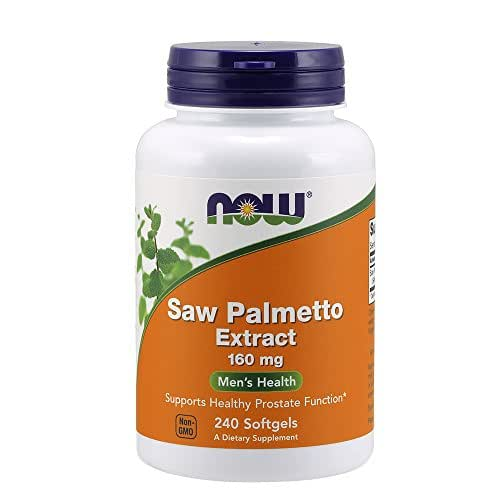 NOW Saw Palmetto Extract 160 mg,240 Softgels