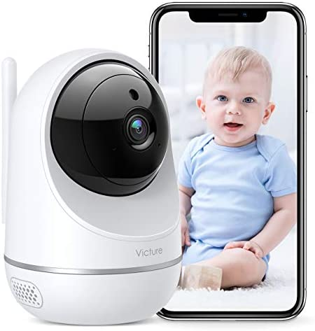 [2021 Upgraded] Home Camera, Victure 1080P WiFi Camera, Support 2.4Ghz and 5Ghz Dual Band Wi-Fi, Pan/Tilt/Zoom, Motion Detection, Two-Way Audio, Night Vision Security Camera, App IPC360 Home