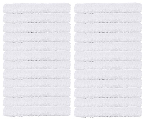 White Cotton Bar Mop Towels, Kitchen Cleaning Towels, 16
