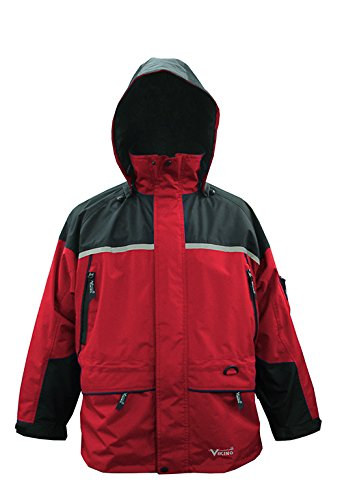 Viking Men's Tempest Tri-Zone Waterproof Insulated Winter Jacket, Large, ()