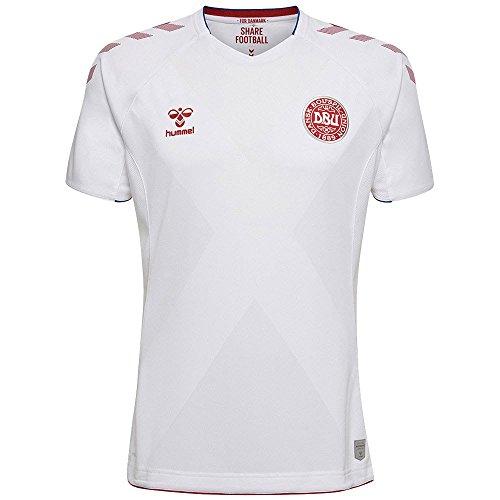 hummel DBU Away Jersey SS Camiseta Cuello Redondo Manga Corta ...