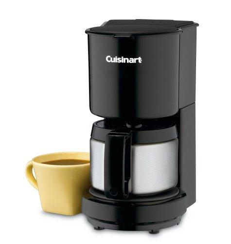 Cuisinart DCC-450BKC 4-Cup Coffeemaker, Black