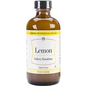 Bakery Emulsions Natural & Artificial Flavor 4oz, Lemon