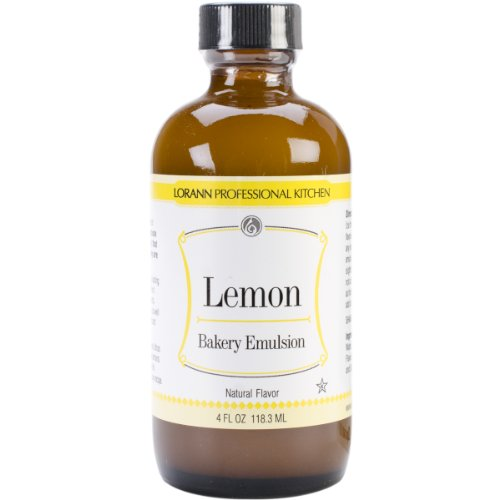 Bakery Emulsions Natural & Artificial Flavor 4oz, Lemon -