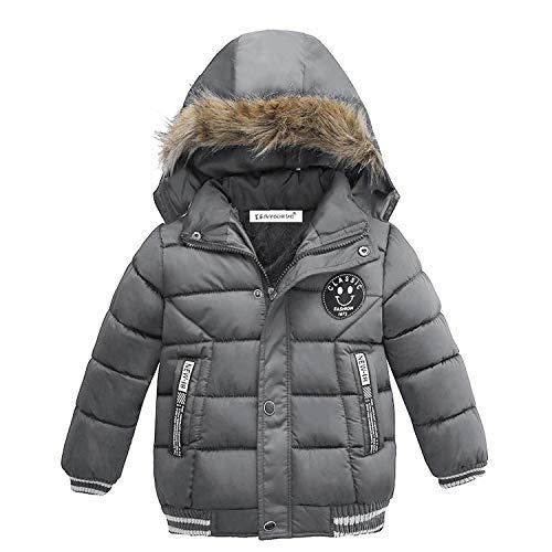 Newmarket Jacket (Baby Boys Jacket Jacket Boys Children Jacket Kids Hooded Warm Outerwear Coat Boy 2 3 4 5 Year)