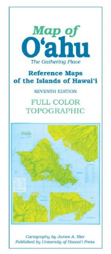 Map of O'ahu: The Gathering Place (Reference Maps of the Islands of Hawai'i) (Best Places In Oahu)