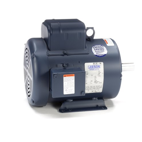 Leeson Electric 131637.00 - General Purpose Motor - 1 ph, 3 hp, 3600 rpm, 115/208-230 V, 182T Frame, Totally Enclosed Fan Cooled Enclosure, 60 Hz, Rigid base Mount