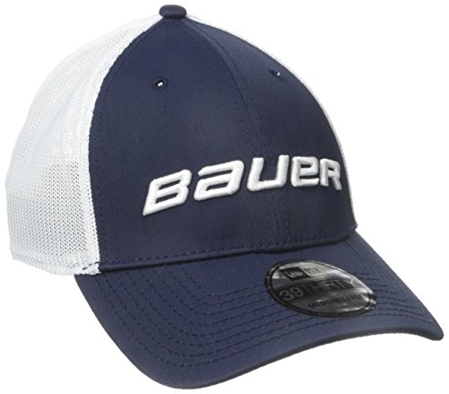 Bauer Men's 39Thirty Mesh Back Cap, Navy, (Bauer Mesh)