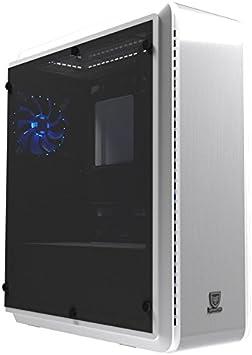 Nfortec Perseus V2 Alpha Blue - Caja ATX Gaming, Color Blanco: Amazon.es: Informática