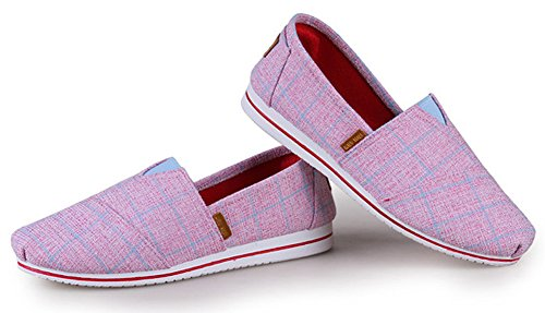 Aisun Graffiti Mode On Basses Slip Femme Loafers Rose Sneakers rwpq1r