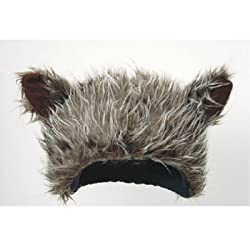 Novelty Furry Wolf Ear Hat
