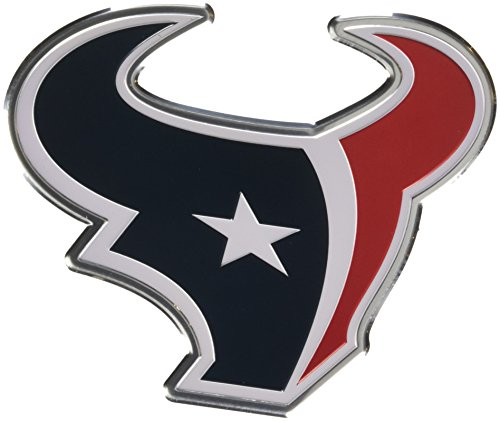 Team ProMark NFL Houston Texans Die Cut Color Automobile Emblem