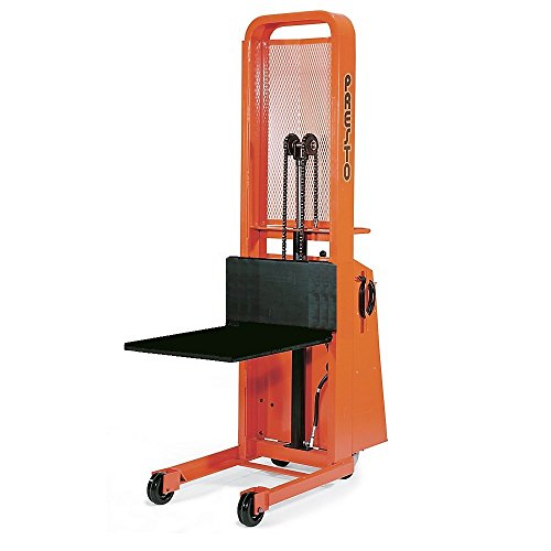 - Presto Battery-Powered Stackers - 2000-Lb. Capacity - 5-1/4-66