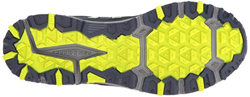 New Balance Men's MT410v5 Cushioning Trail Running Shoe, Navy/Yelow, 7.5 D US by New Balance (Image #3)