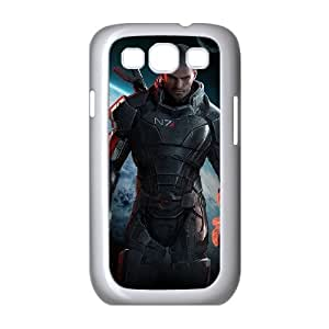 Samsung Galaxy S3 9300 Cell Phone Case White Mass Effect E1327374
