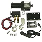 New ATV Winch Motor Assembly Kit Includes Removable Toggle Switch 2500LB Rating