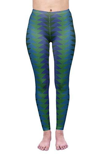 MAOYYMYJK Yoga-Hose Für Damen Schnelltrocknende Yogahose Mit3D-Digitaldruckgamaschen Im Freien