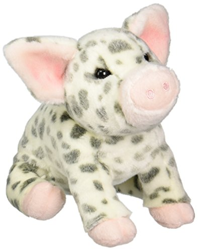 Douglas Cuddle Toys Pauline Spotted Pig Plush Toy 10