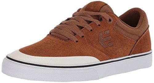 Chaussures de brown Skateboard Vulc Marron Etnies Homme White 217 Marana Zq8Ett