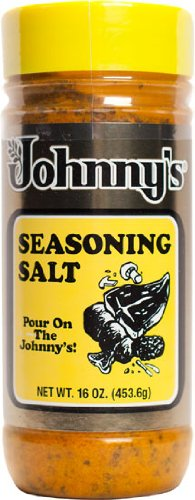 Johnny's Seasoning Salt 16 Ounce, 3 Pack by Johnny's