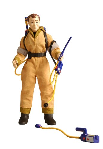 Ghostbusters Costume With Real Proton Pack (Retro-Action Ghostbusters Ray Stantz Collector Figure)
