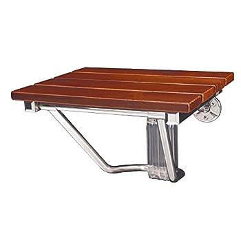 DreamLine Natural Wood Folding Shower Seat