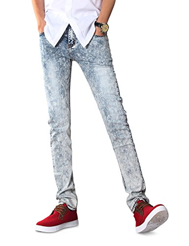 Demon&Hunter 808 Series Men's Skinny Slim Jeans DH8038(32)
