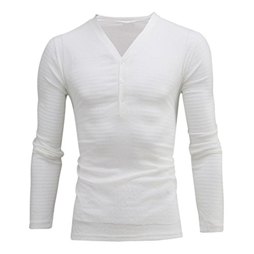 Top Fit Chic Cotton con Top Camicie Summer Maglietta alta New qualità Aimee7 Hot Sales Sport 2018 casual Maglietta Bianco Man Crazy maniche Slim lunghe RzAO4U