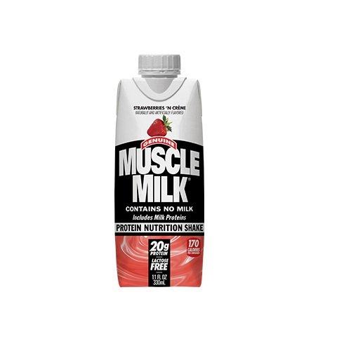 Cytosport Muscle Milk Genuine Ready-To-Drink Shake, Strawberry
