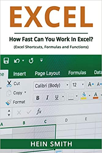 Amazon com: Excel: How Fast Can You Work In Excel? (Excel
